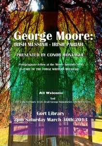 Presented by Cocor Montague. Post-graduate fellow at the Moore Institute NUIG.